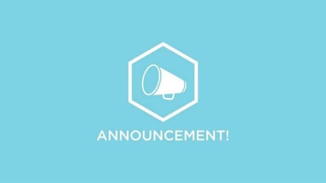 Announcement Banner