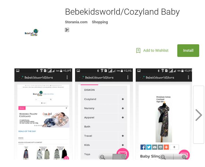 Peluncuran Bebekidsworld / Cozyland Mobile Baby Store