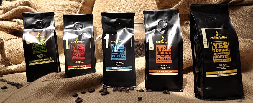 Produk Kopi di Coffee Toffee