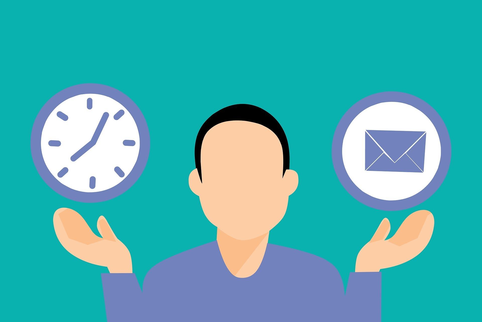 Jam Terbaik untuk Menulis dan Mengirimkan Email