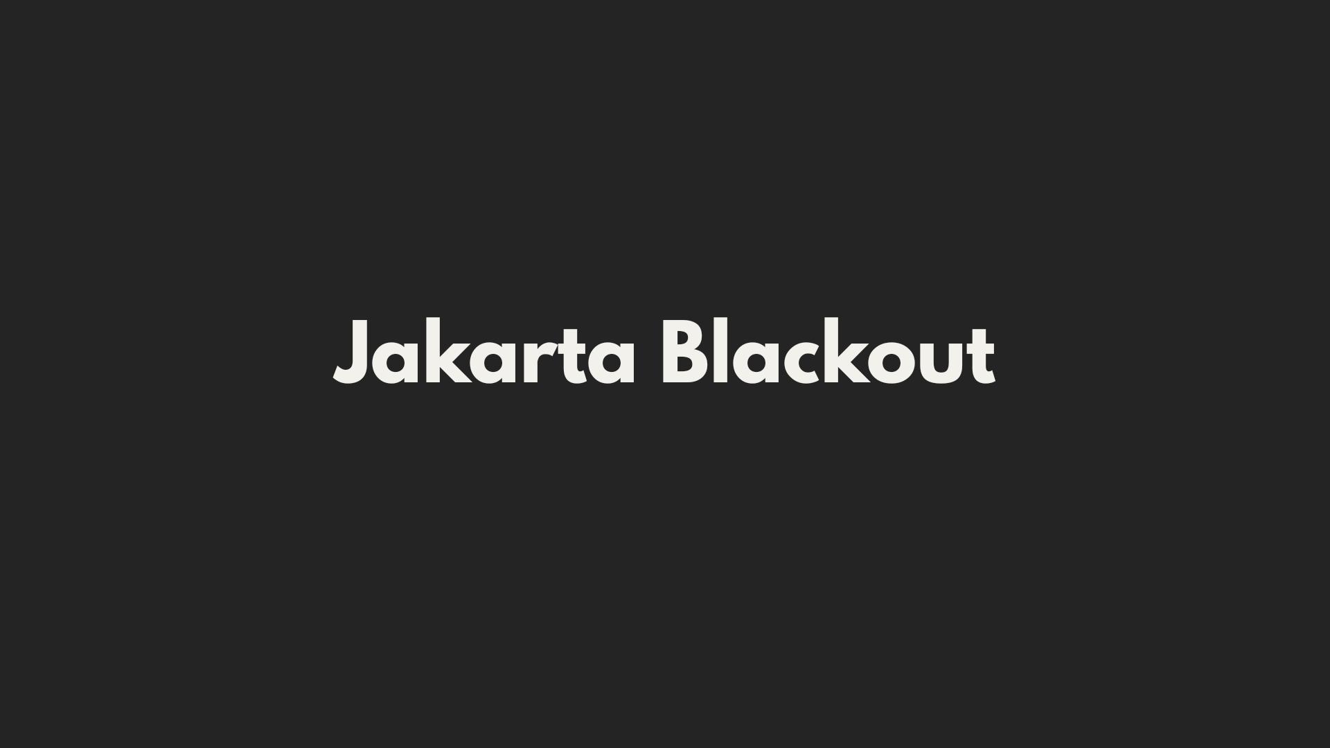 Ada Gempa dan Pemadaman Listrik 2 - 4 Agustus 2019, Server Storania Tetap Bisa Diakses